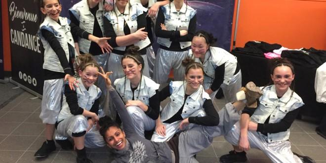 La troupe Expression du Collège Saint-Louis s'illustre à la compétition CANDANCE!