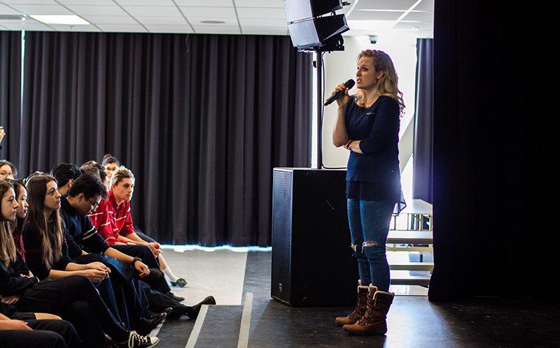 Conférence Marie-Soleil Dion – photos